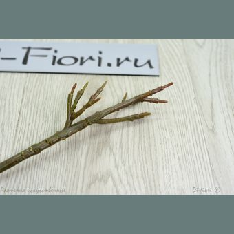 BЕТКИ Заготовки Artificial Flowers Factory №O-mat: Ветка из пластика основа для декора, 18см 18